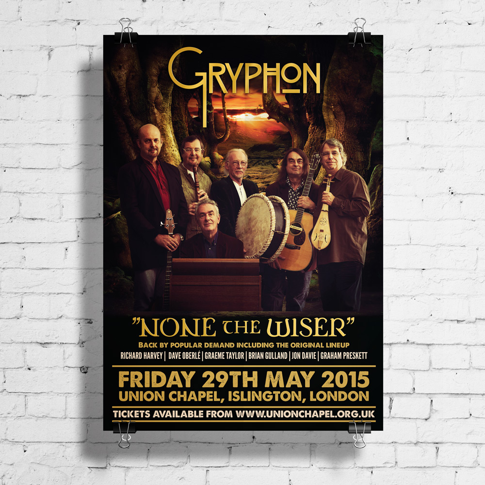 gryphon tour poster
